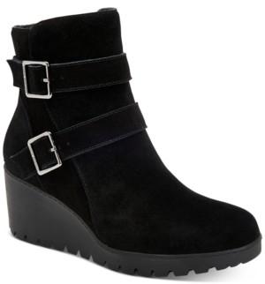 Giani Bernini Sashaa Memory-Foam Water-Resistant Booties, Created for Macy's Women's Shoes