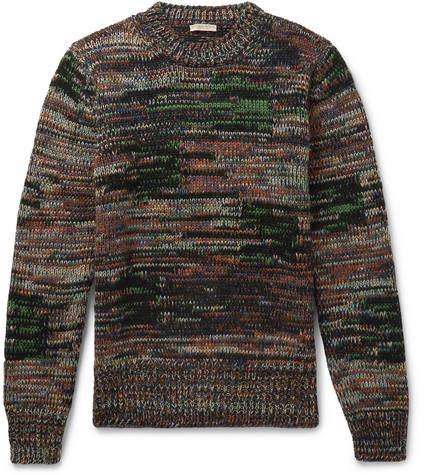 Bottega Veneta Mélange Wool Sweater
