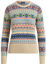 Polo Ralph Lauren Fair Isle Crewneck Sweater