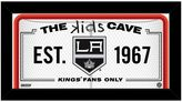 "Steiner Sports Los Angeles Kings 10"" x 20"" Kids Cave Sign"
