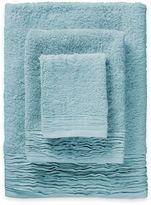 3-Piece Pleated Turkish Cotton Bath Towel Set