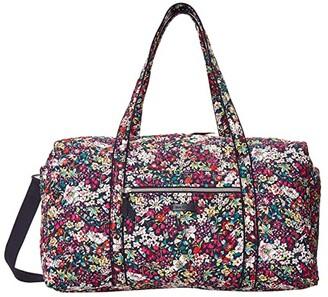 Vera Bradley Large Travel Duffel (Itsy Ditsy) Handbags
