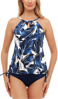 ST. JOHN'S BAY St. John's Bay Viva Antigua High Neck with Cut Outs Tankini