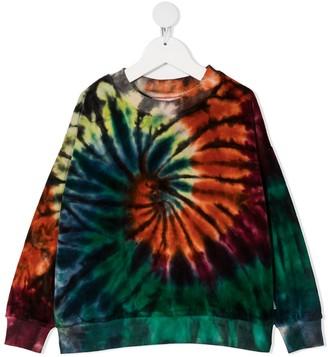 Molo Kids Swirl tie-dye sweatshirt