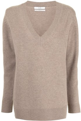 Co V-Neck Boyfriend Sweater