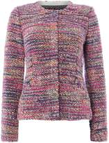 Oui Tweed knitted jacket
