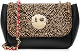 Hill & Friends Happy Chain Leather and Calf Hair Shoulder Bag