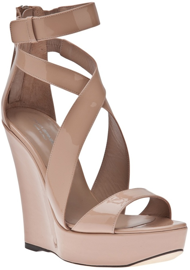 Tania Spinelli Strappy wedge