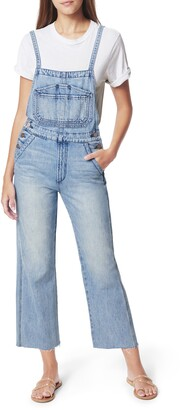 Joe's Jeans Crop Wide Leg Overalls