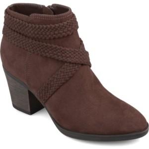 Journee Collection Women's Senica Bootie Women's Shoes