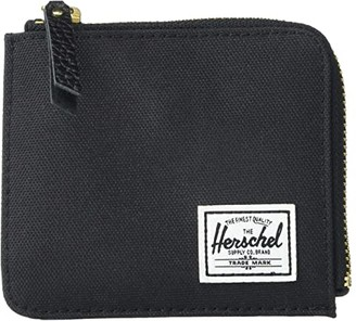 Herschel Jack RFID (Black) Wallet Handbags