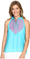 Rock and Roll Cowgirl Sleeveless Top B5-7306