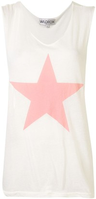 Wildfox Couture Star Print Tank Top