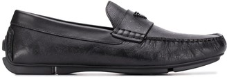 Emporio Armani Driving Loafers