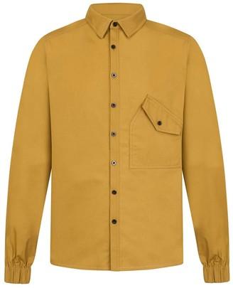 1x1studio Yellow Ma-1 Shirt