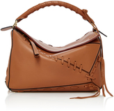 Loewe Puzzle Whipstitched Leather Shoulder bag