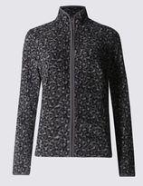 Marks and Spencer Leopard Print Fleece Jacket
