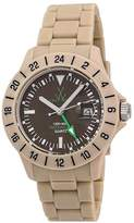 Toy Watch Unisex TOYJET06SY Jet Lag Analog Display Swiss Quartz Beige Watch