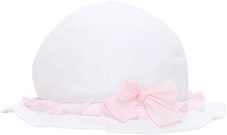 Il Gufo Cotton Hat W/ Bow
