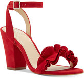 Vince Camuto Vinta Two-Piece Ruffle Sandals