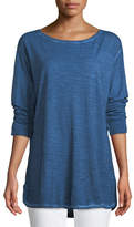 Eileen Fisher Pigment-Dyed Hemp-Blend Tunic