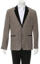 CNC Costume National C'N'C Glen Plaid Two-Button Blazer