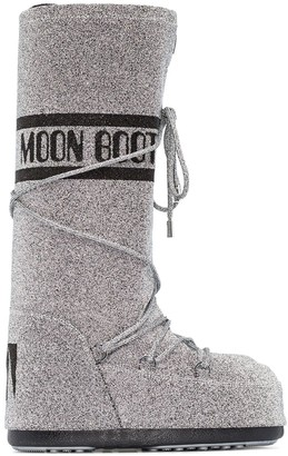 Moon Boot Classic Swarovski-embellished snow boots