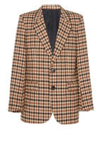 Ami Lined Oversize Two Buttons Jacket