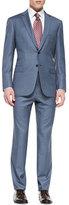 Brioni Tic Two-Piece Suit, Blue