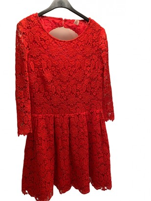 BA&SH Red Lace Dresses