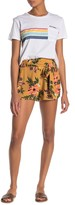 Rip Curl Sunchasers Floral Waist Tie Shorts