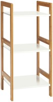 DREW Bamboo and lacquer 3-shelf bookcase
