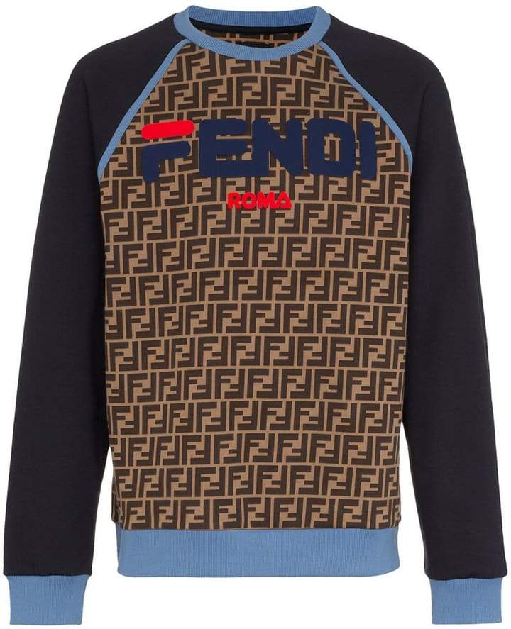 6739e46f Fendi Men's Sweatshirts - ShopStyle