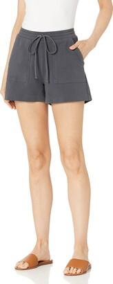 Daily Ritual Amazon Brand Women's Stretch Cotton Knit Twill Easy Short