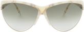 Victoria Beckham Marble Cateye Sunglasses