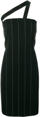 Versace Pre-Owned pinstriped mini dress
