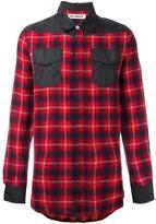 Off-White checked shirt - unisex - Polyamide/Virgin Wool - S