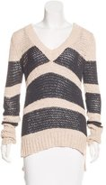 Ulla Johnson Striped Rib Knit Sweater