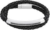 Swarovski Gesture Bracelet, Gray, Stainless steel
