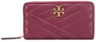 Tory Burch Kira Chevron zip continental wallet