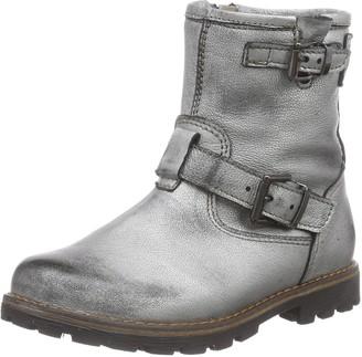 Momino Unisex Kids' 6411MT Warm lined biker boots short length
