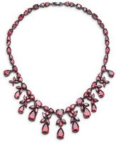 Fallon Monarch Heart Drop Bib Necklace