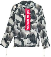 Off-White abstract print jacket