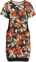 Isolde Roth Plus Size Floral linen dress