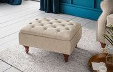 Marks and Spencer Highland Button Footstool
