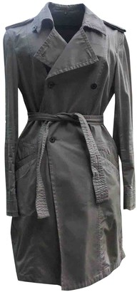Calvin Klein Beige Cotton Trench Coat for Women
