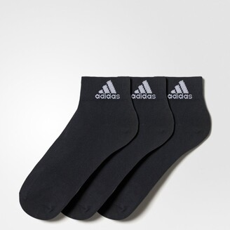 adidas Pack of 3 Pairs of Boys Ankle Socks
