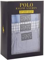 Polo Ralph Lauren Classic Cotton Boxer Shorts (3-Pack)