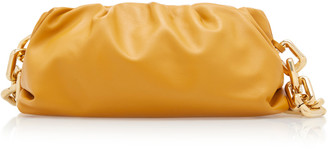 Bottega Veneta Gathered Leather Shoulder Bag