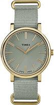 Timex Women's Originals Tonal | Green Strap Minimal Dial Casual Watch TW2P88500